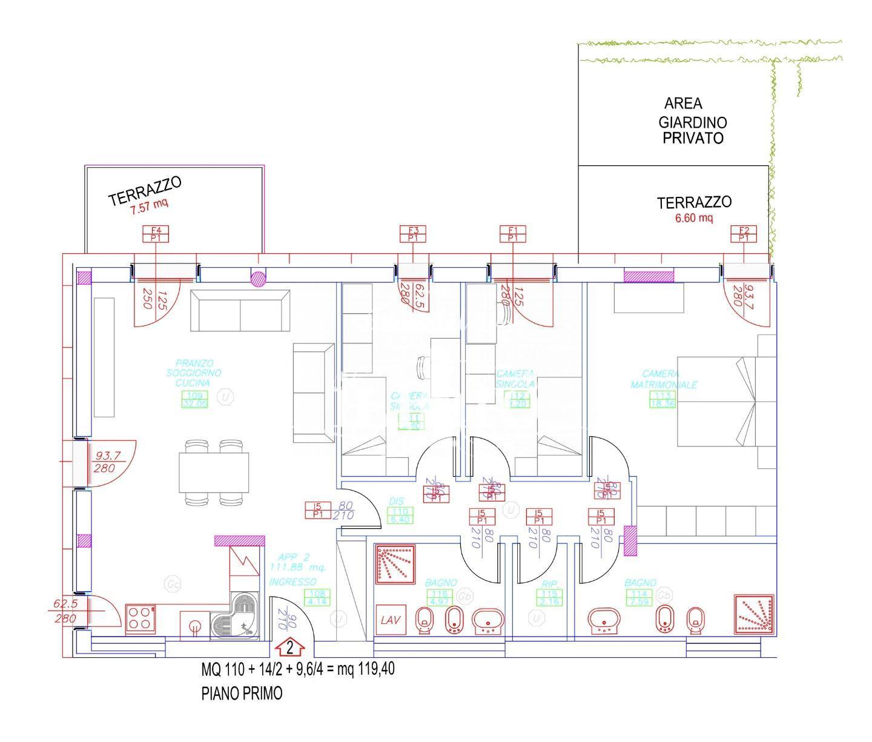 Appartamento in vendita, rif. P5434