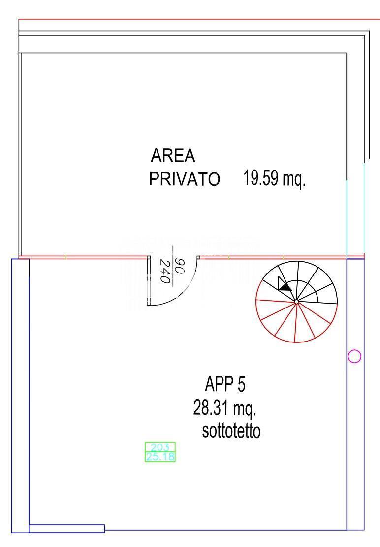 Attico in vendita, rif. P4340