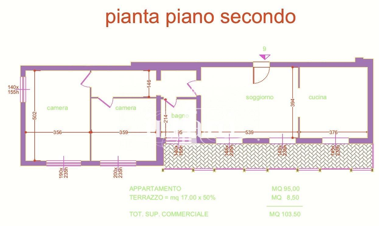Appartamento in vendita, rif. P4342