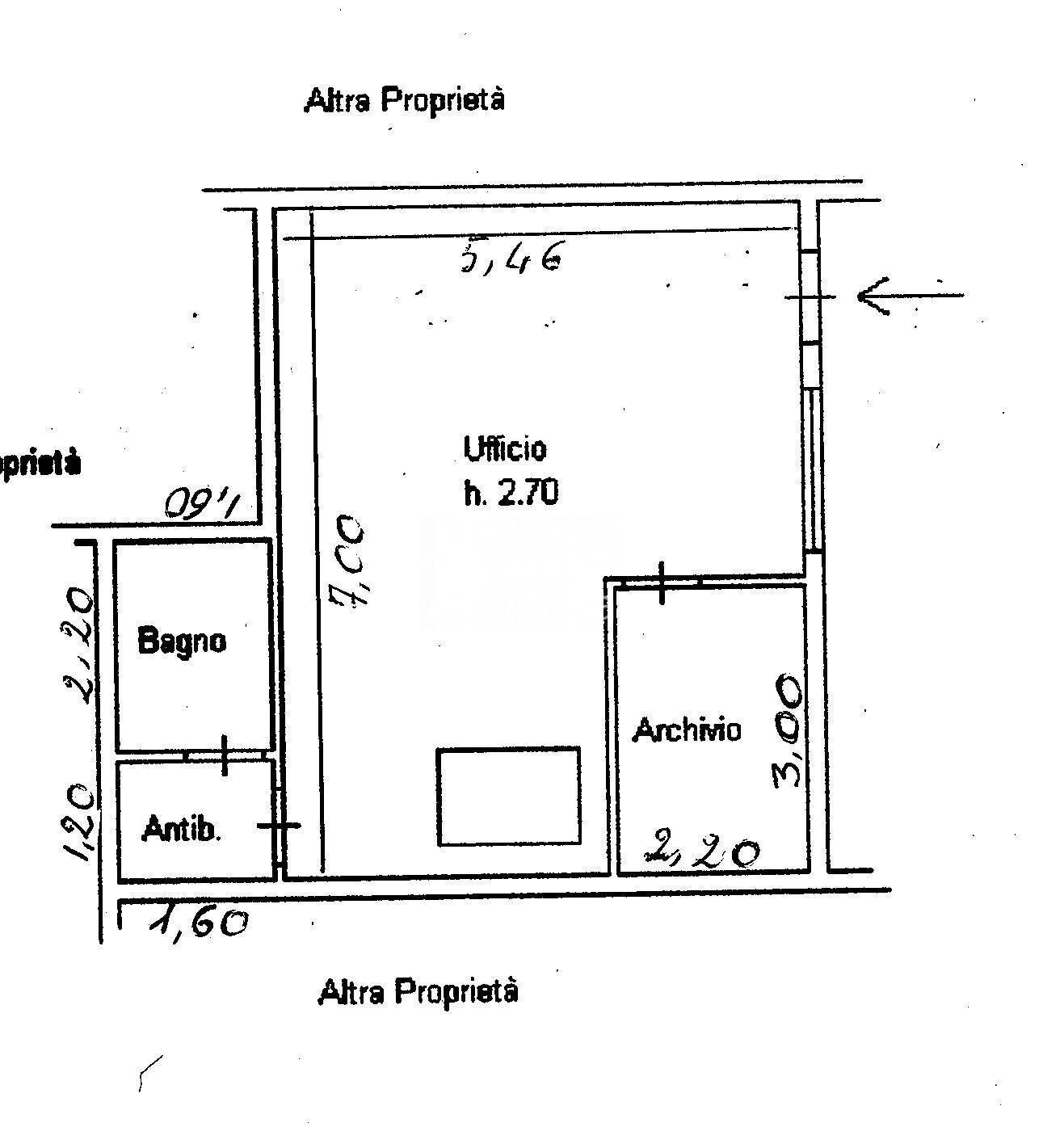 Ufficio in vendita, rif. AQ 1904