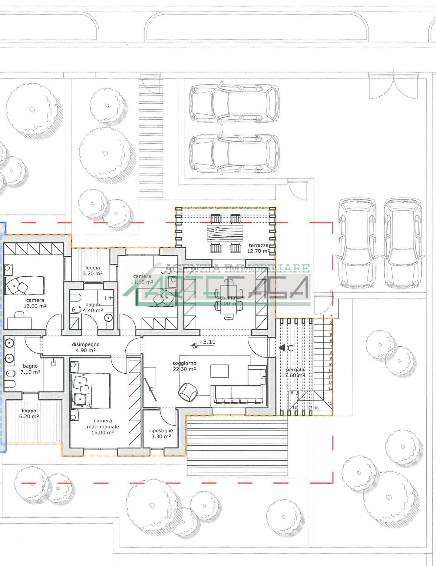 Appartamento in vendita, rif. AC6989