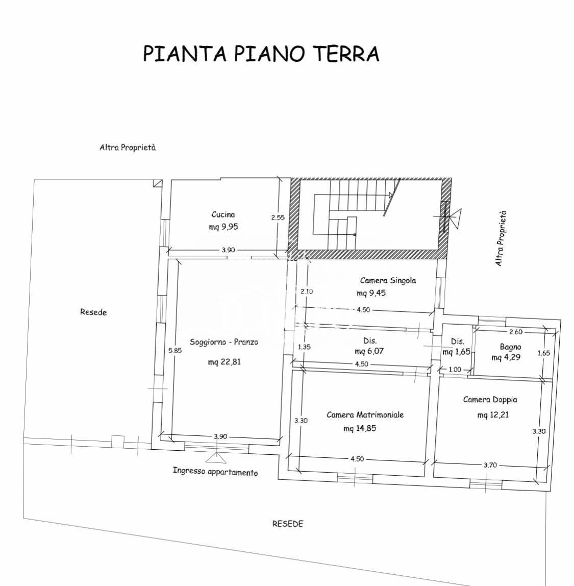 Casa semindipendente in vendita a Signa (FI)