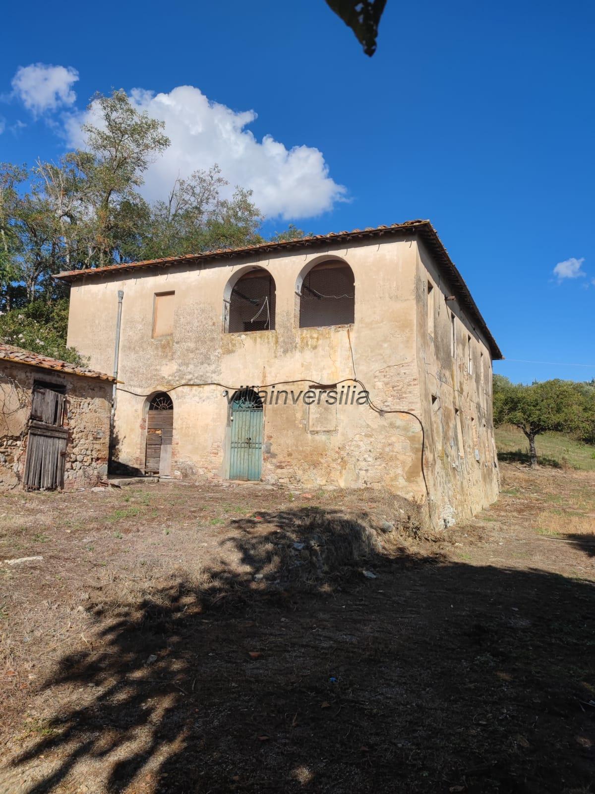 Foto 7/8 per rif. V 432021  rustico Siena
