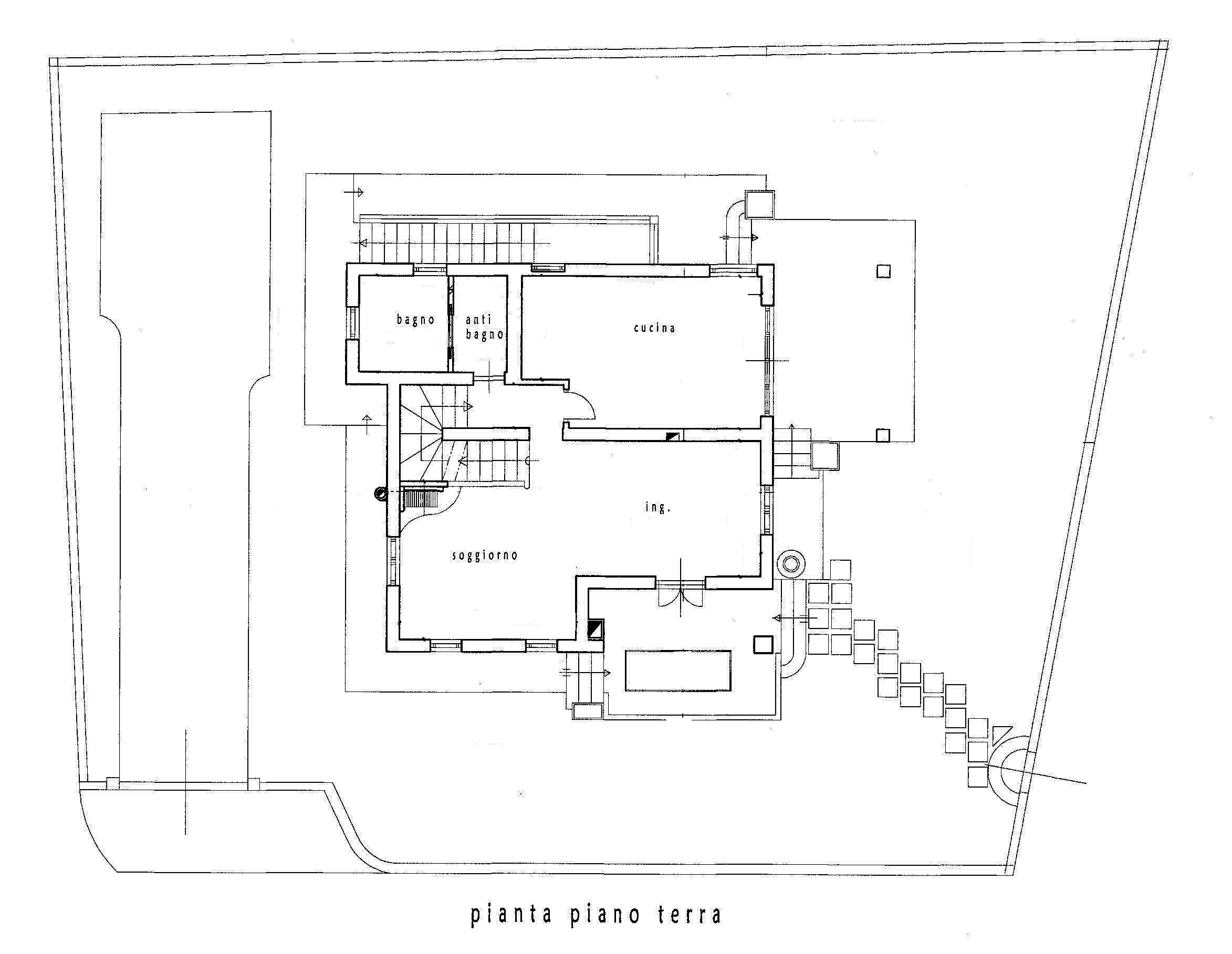 Planimetria 1/3 per rif. SV48