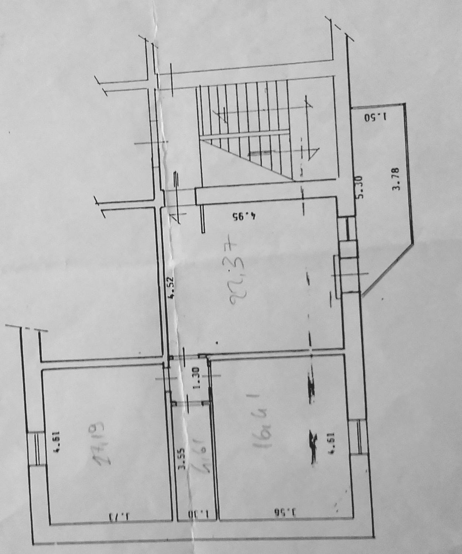 Planimetria 1/1 per rif. 498c - M 36