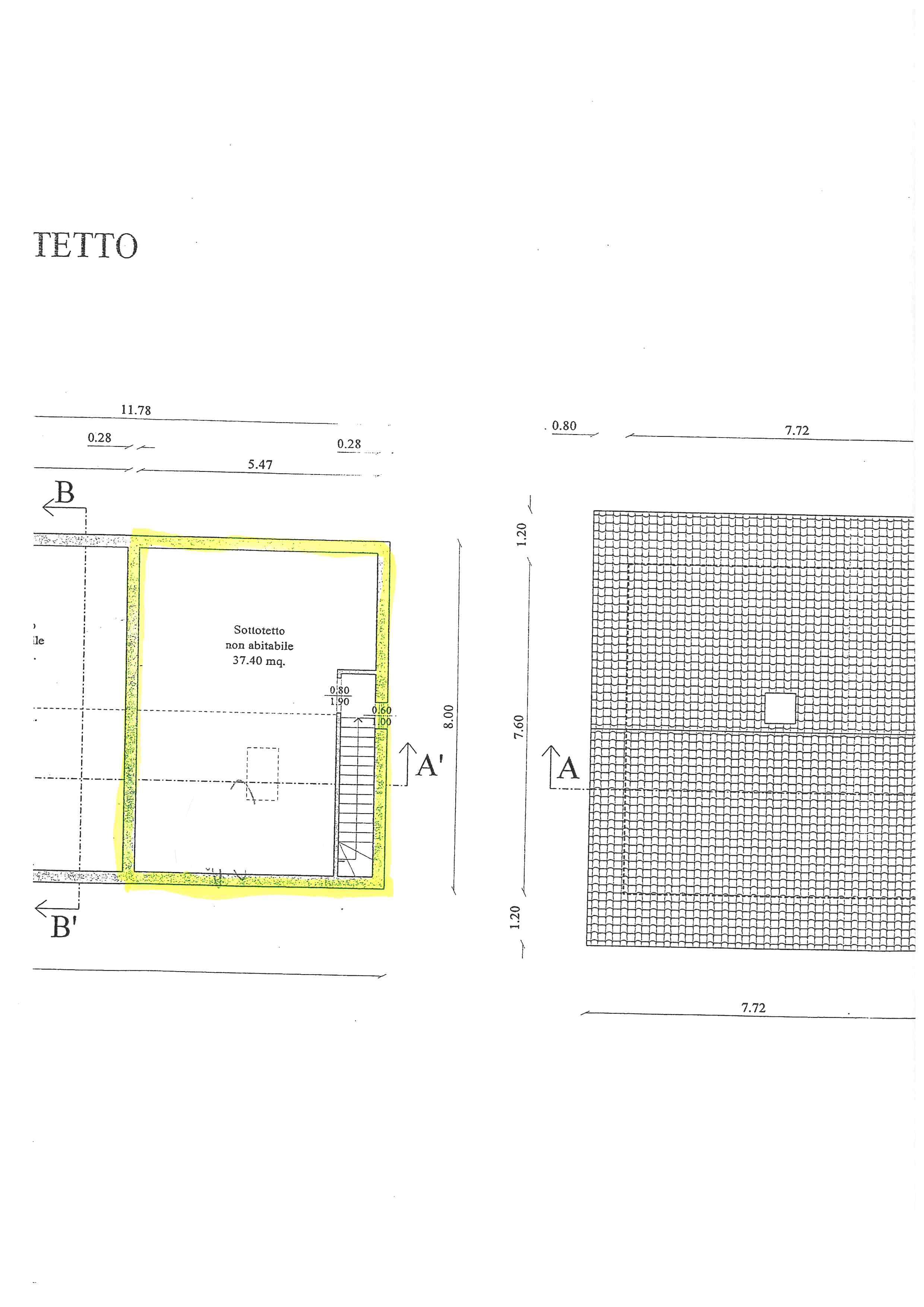 Planimetria 2/3 per rif. 177