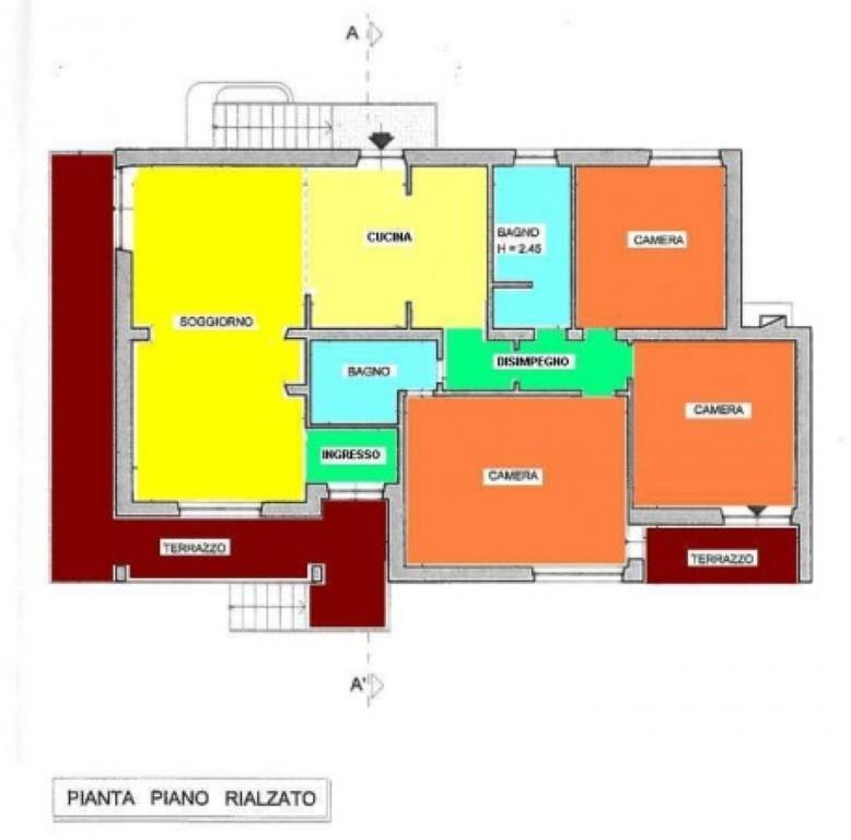 Planimetria 1/1 per rif. SITO30155