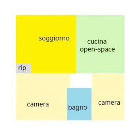 Planimetria 1/1 per rif. SITO50080