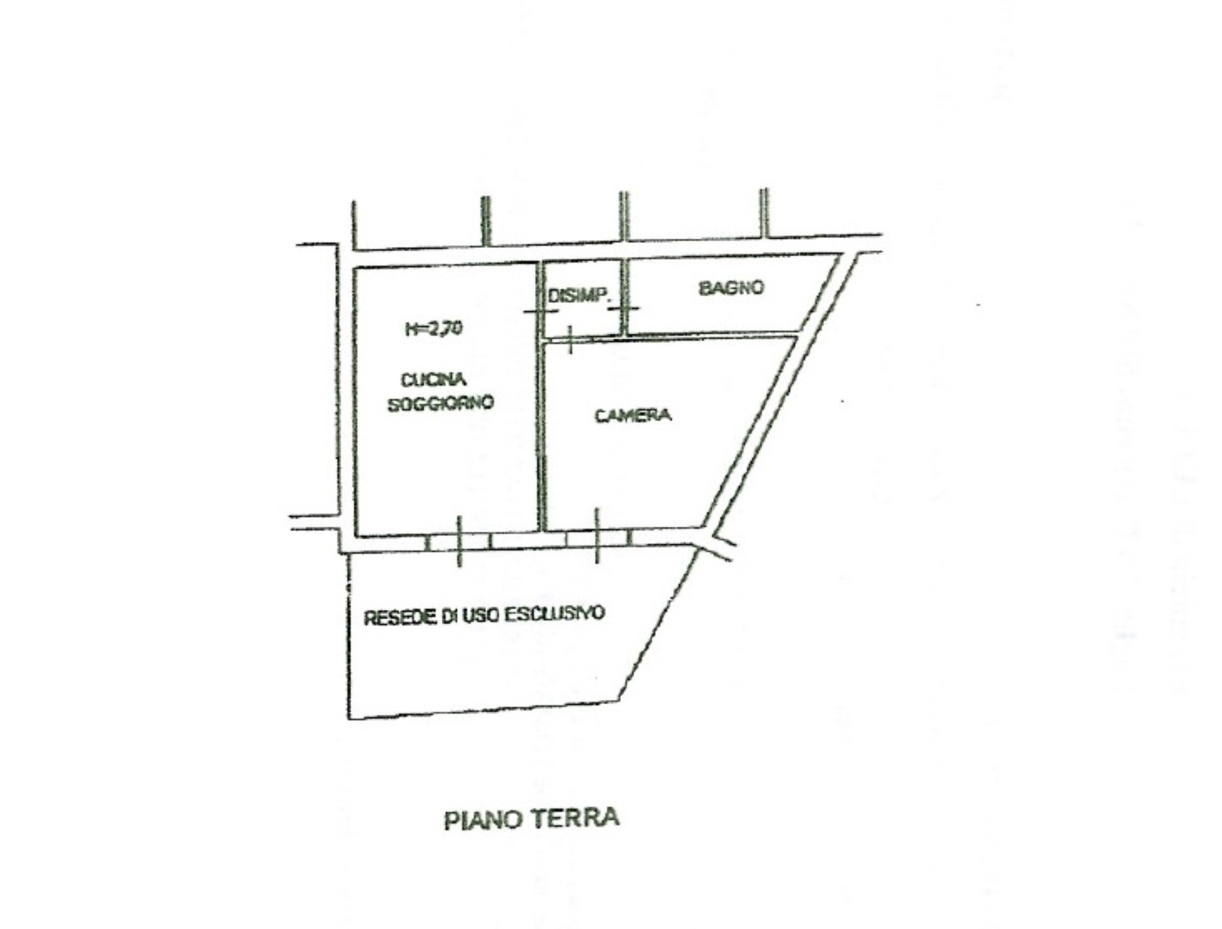 Planimetria 1/1 per rif. 50097