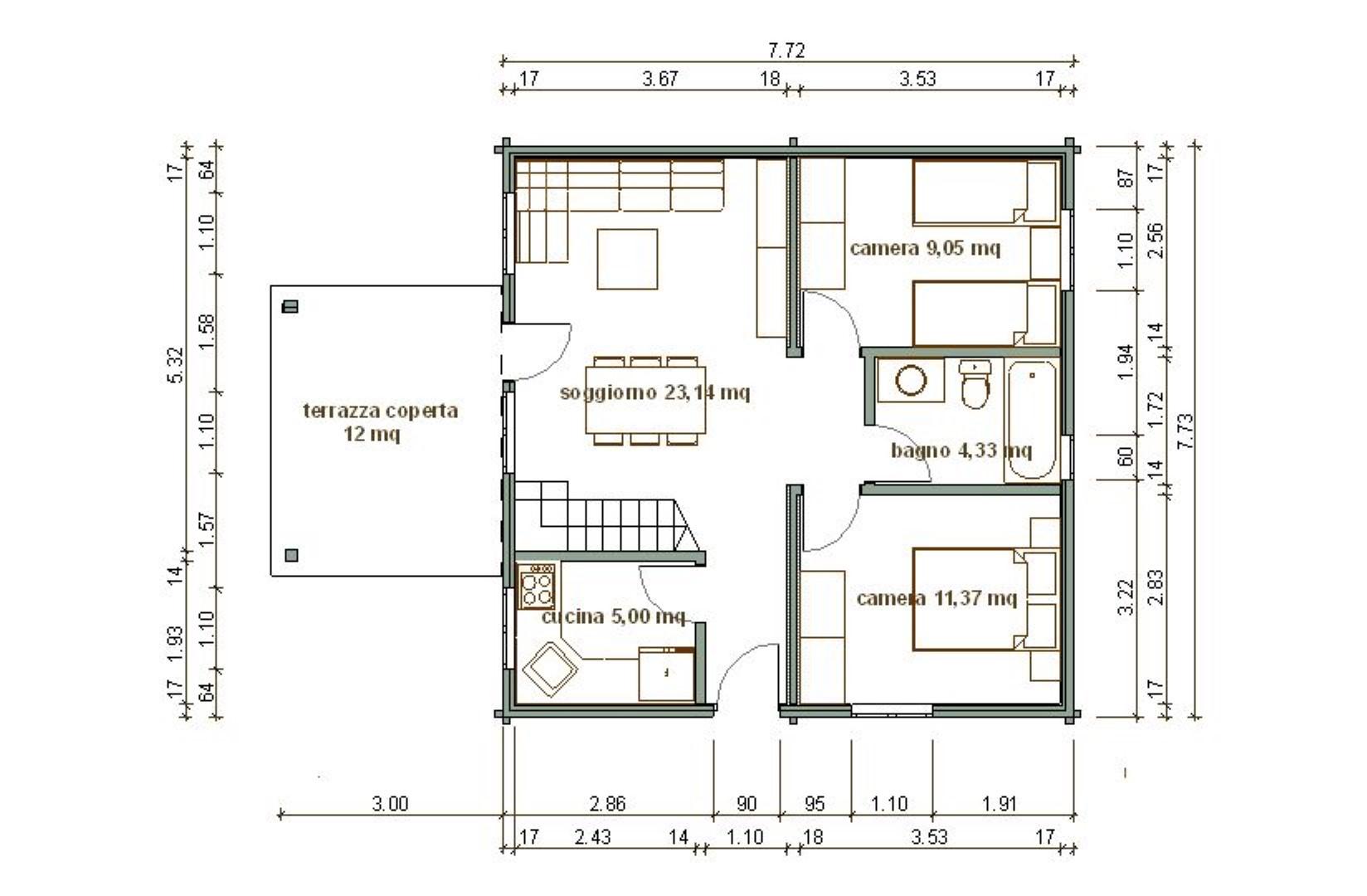 Planimetria 1/1 per rif. SITO50146