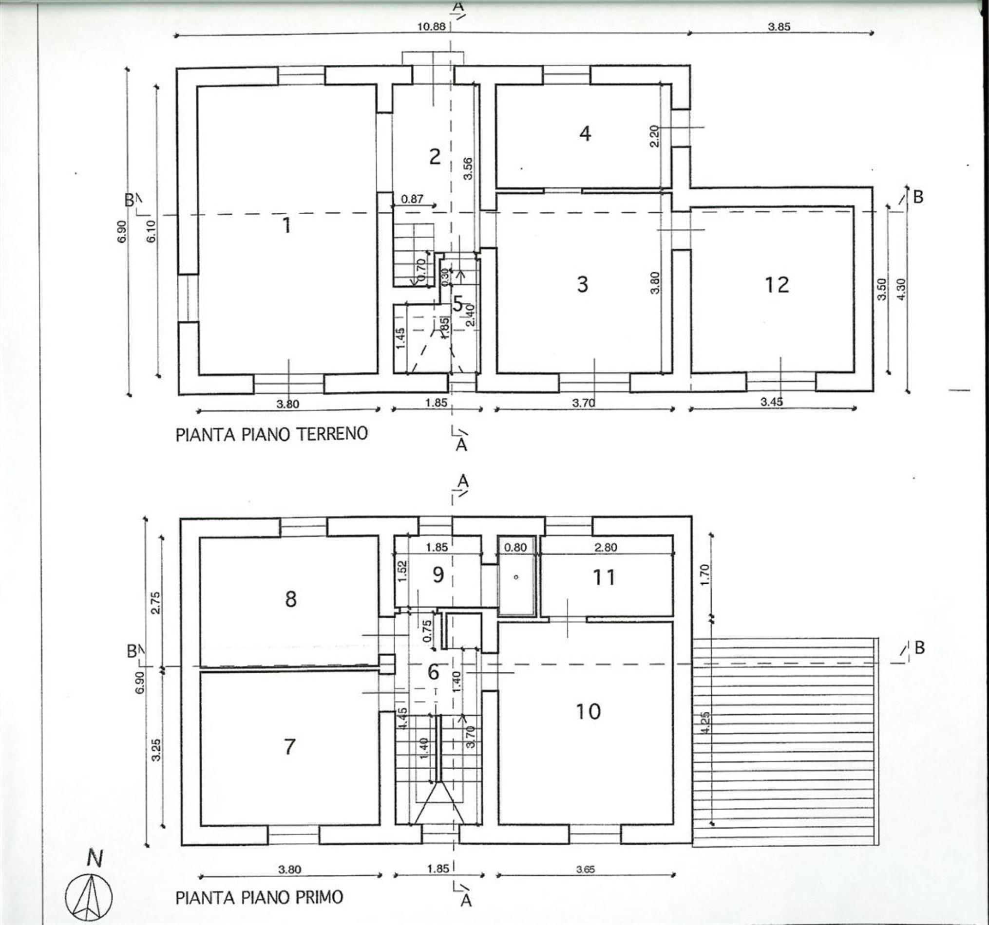 Planimetria 1/1 per rif. LUT90004..