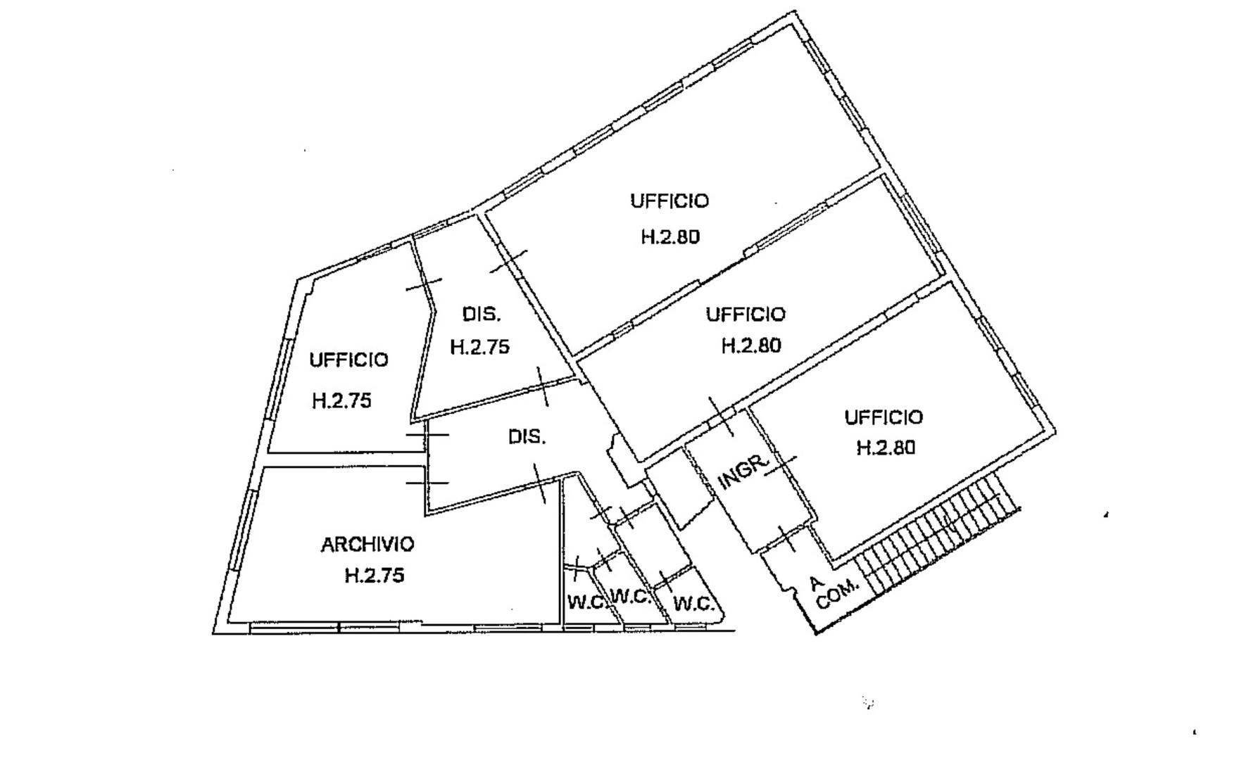 Planimetria 1/1 per rif. UT20020BIS.