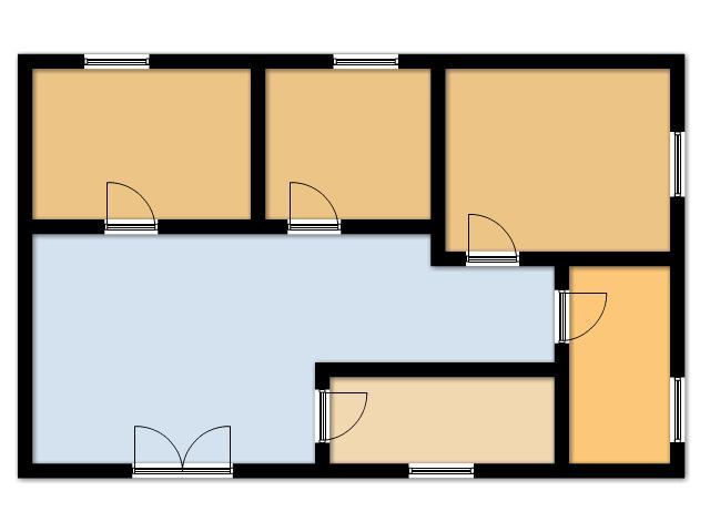 Planimetria 1/1 per rif. SITO50324