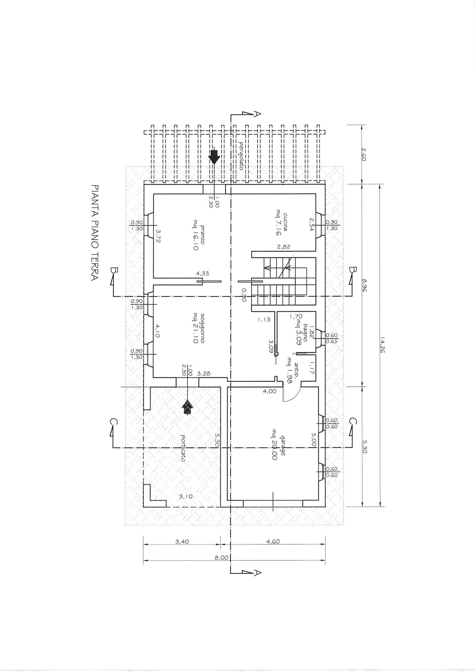 Planimetria 3/3 per rif. CIND CAST  180