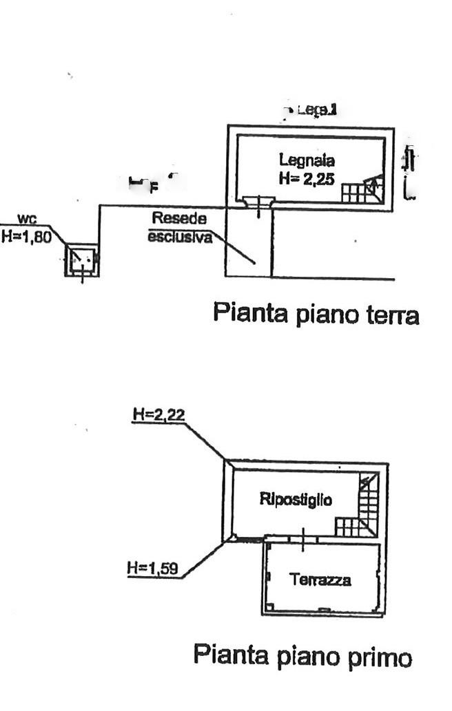 Planimetria 1/2 per rif. TRF SEGR 120