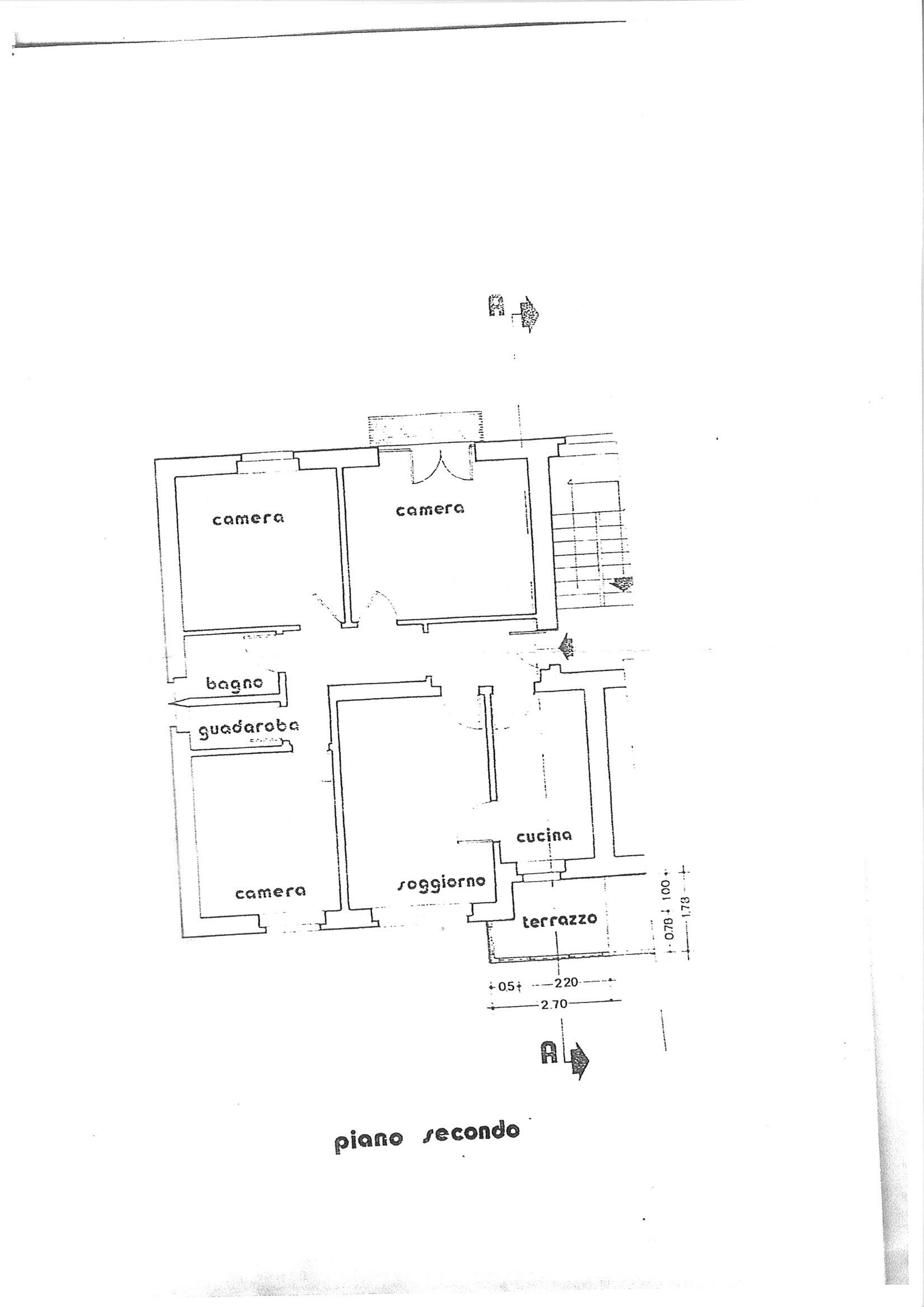 Planimetria 1/1 per rif. AP SMARGH 108