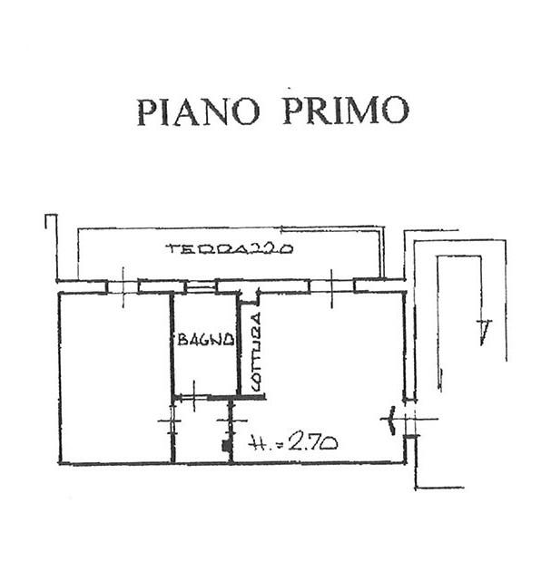 Planimetria 1/1 per rif. AP PSP 100