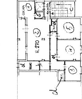 Planimetria 1/1 per rif. AP CAP 150