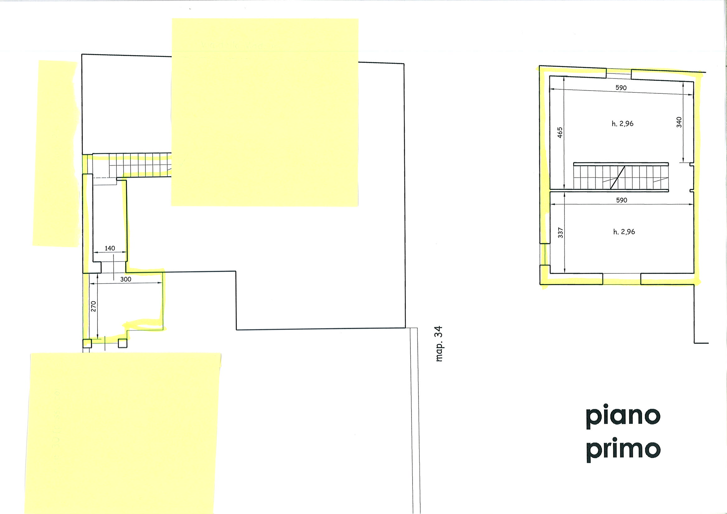 Planimetria 1/2 per rif. TRF CAP 85