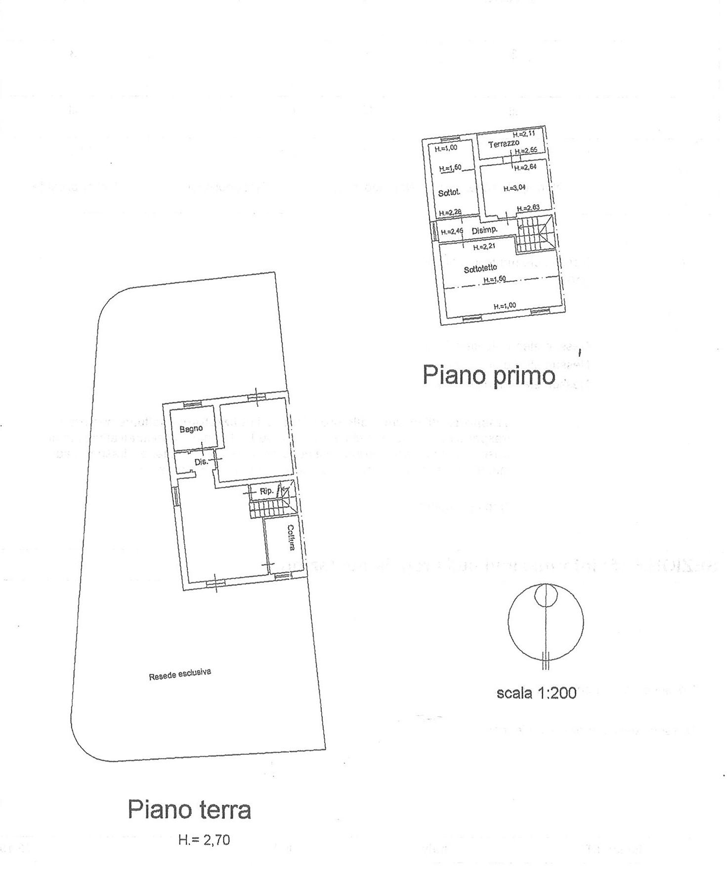 Planimetria 1/1 per rif. VBF PICC 255