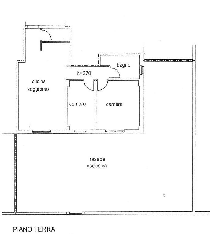Planimetria 1/1 per rif. AP CAPA 128BE