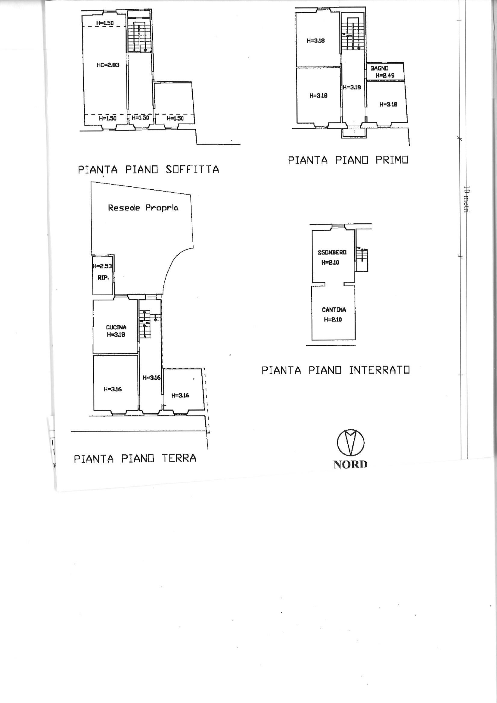 Planimetria 1/1 per rif. TRC MARL 75
