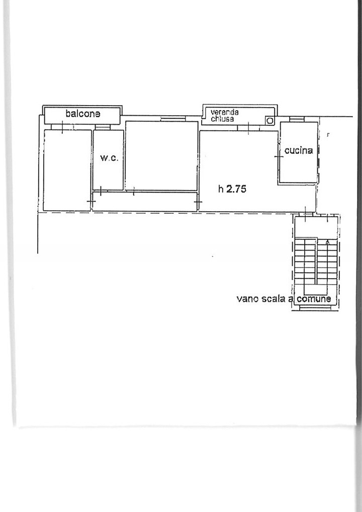 Planimetria 1/1 per rif. ap gossi 79