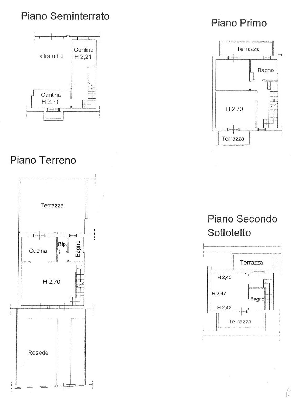 Planimetria 1/1 per rif. VSC ALTO 220 NIC