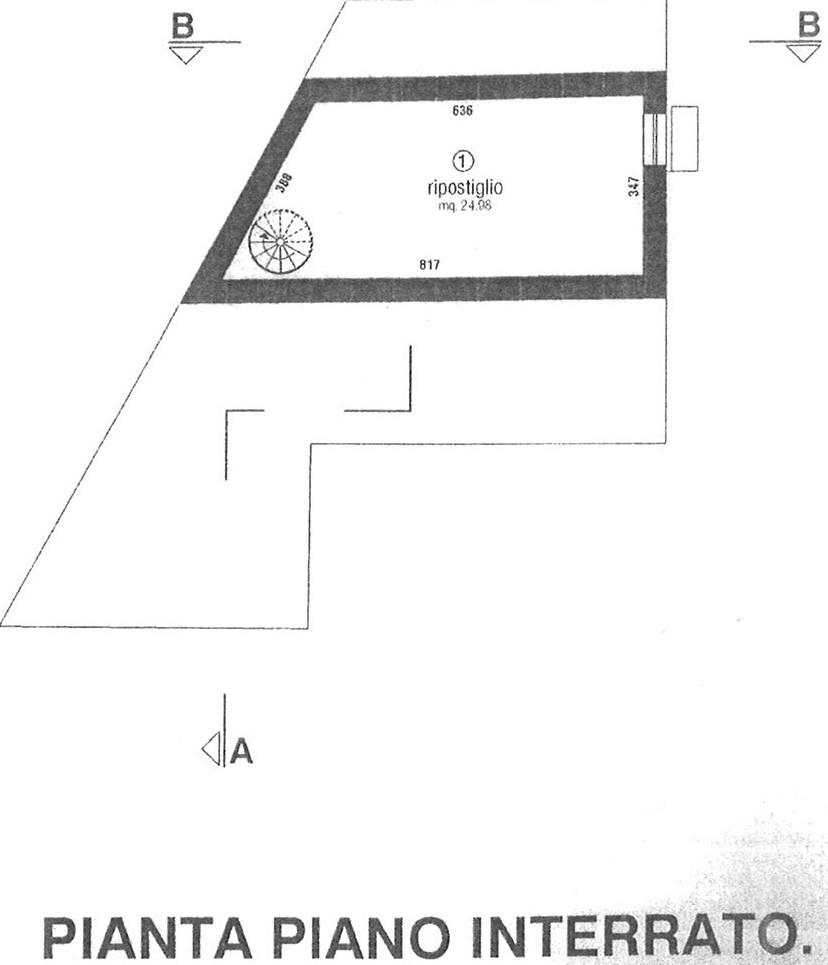 Planimetria 2/2 per rif. AP SEGR 115