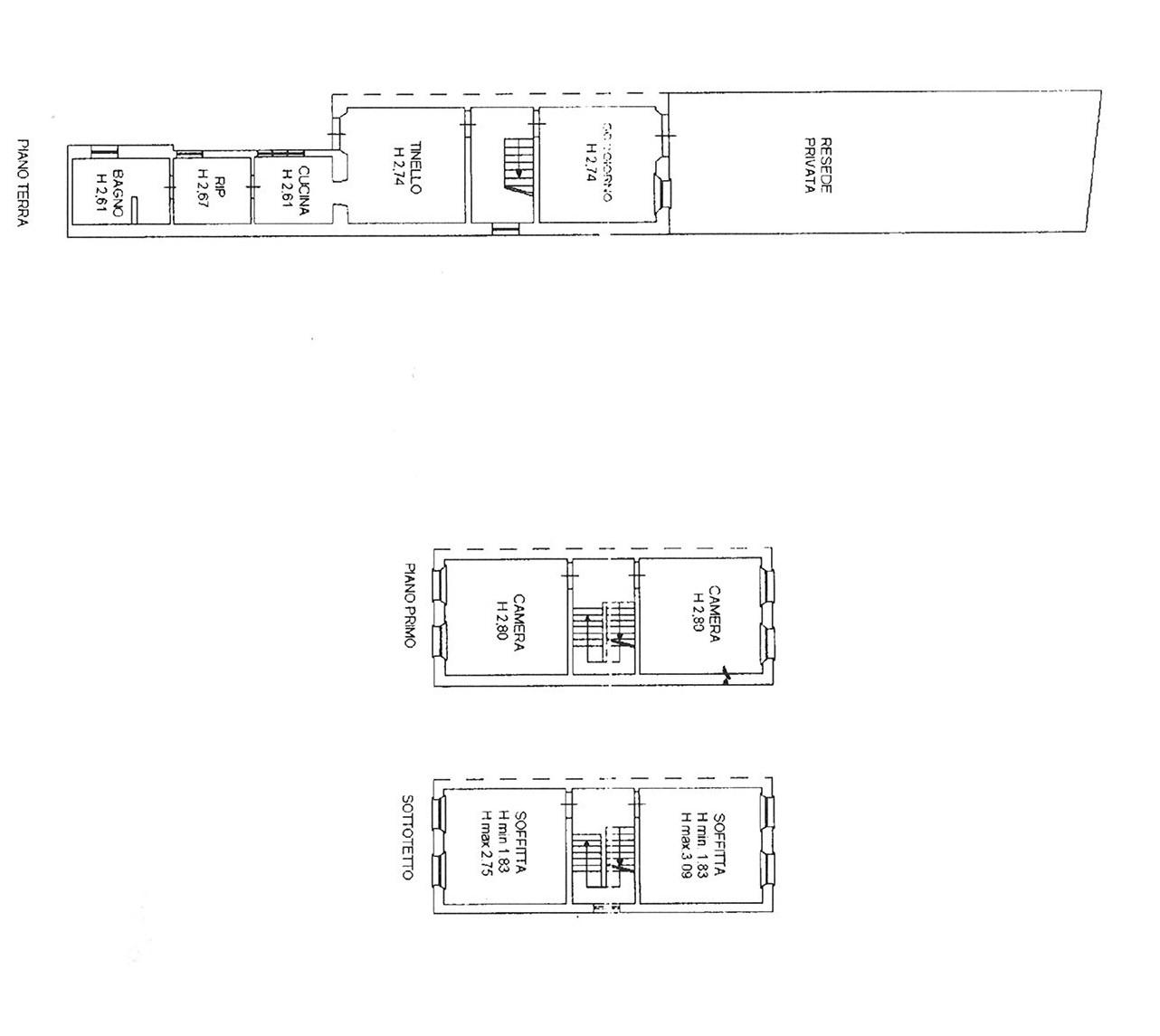 Planimetria 1/1 per rif. trf sgin 130
