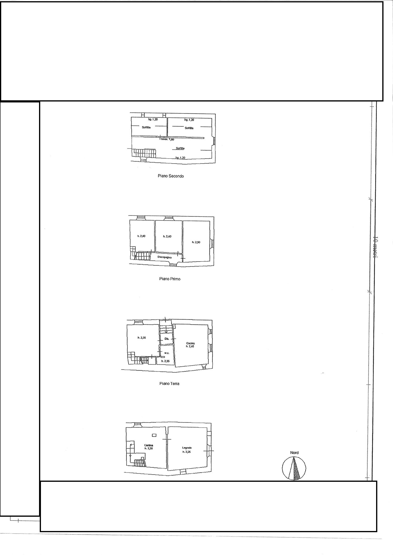 Planimetria 1/1 per rif. TRF PARIANA 80