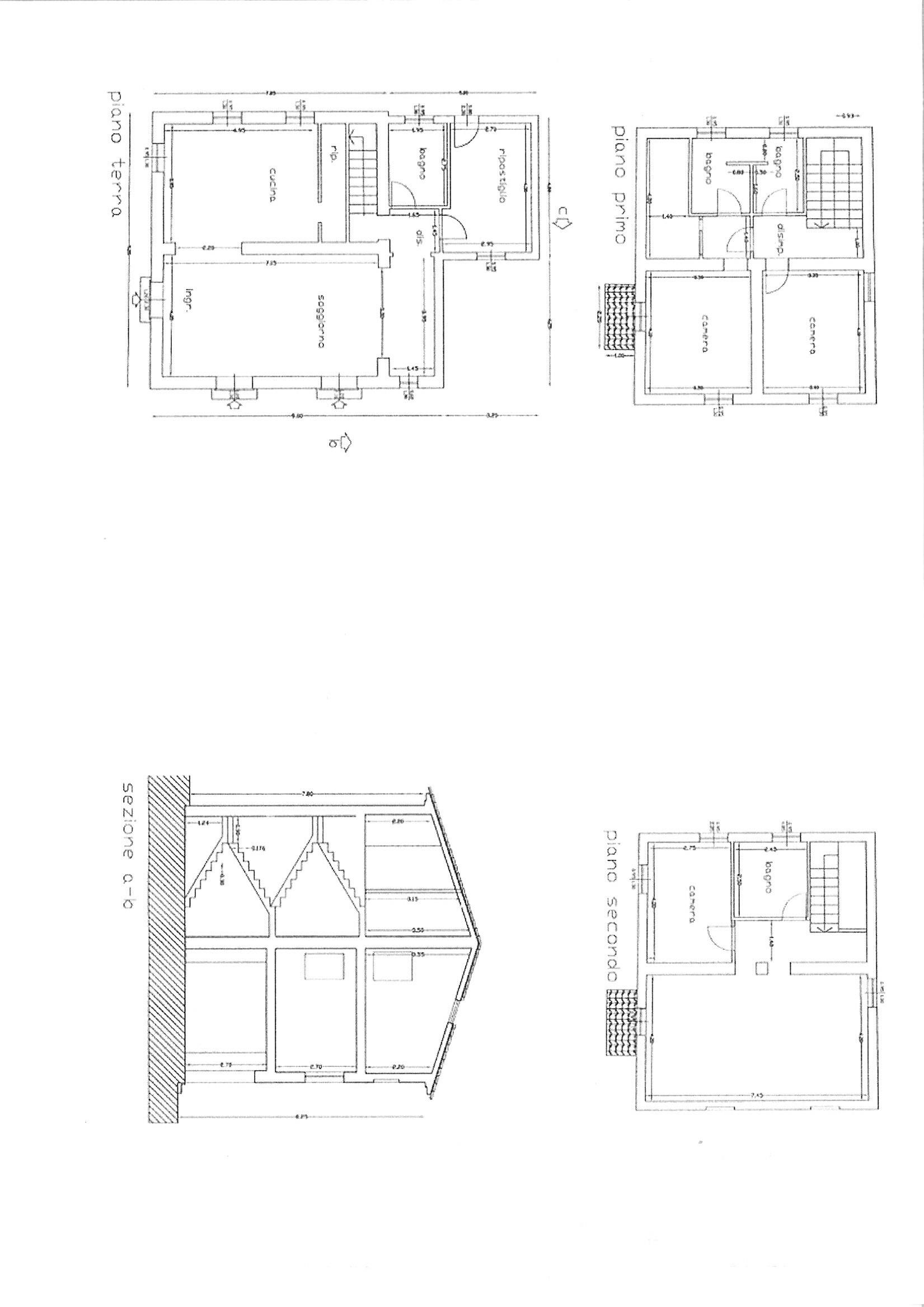 Planimetria 1/1 per rif. rust mmac 250
