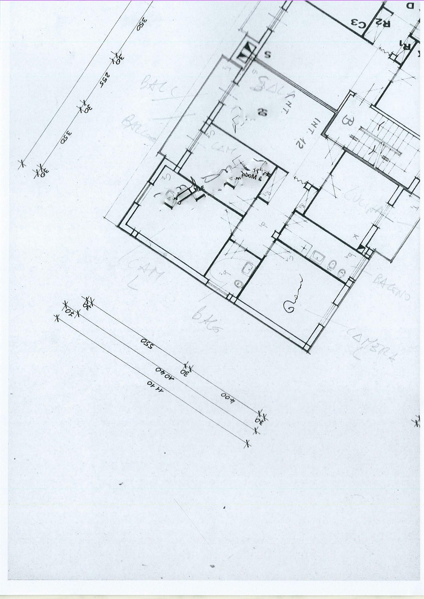 Planimetria 1/1 per rif. ap capa 110pi