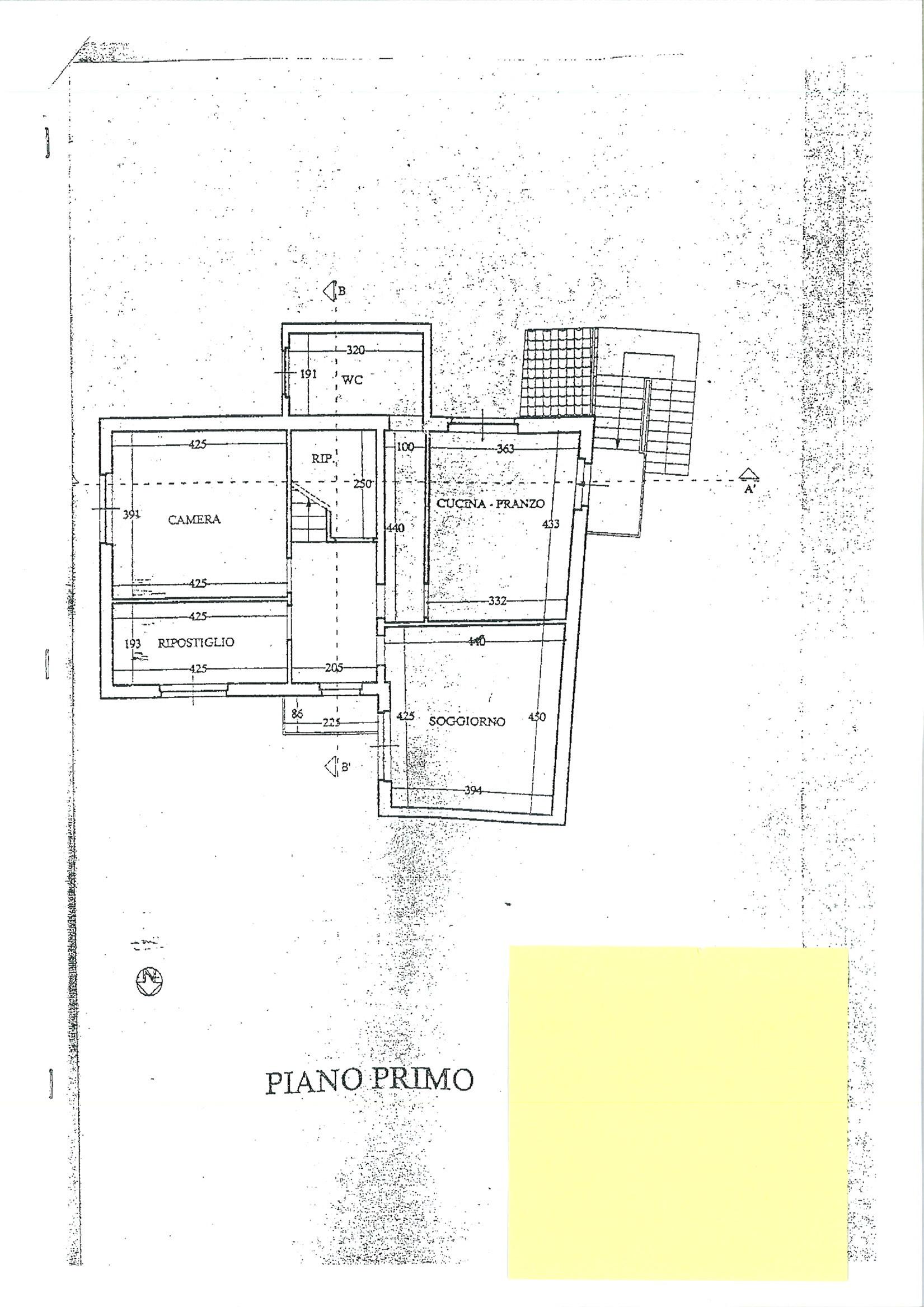 Planimetria 2/3 per rif. ap castel 90
