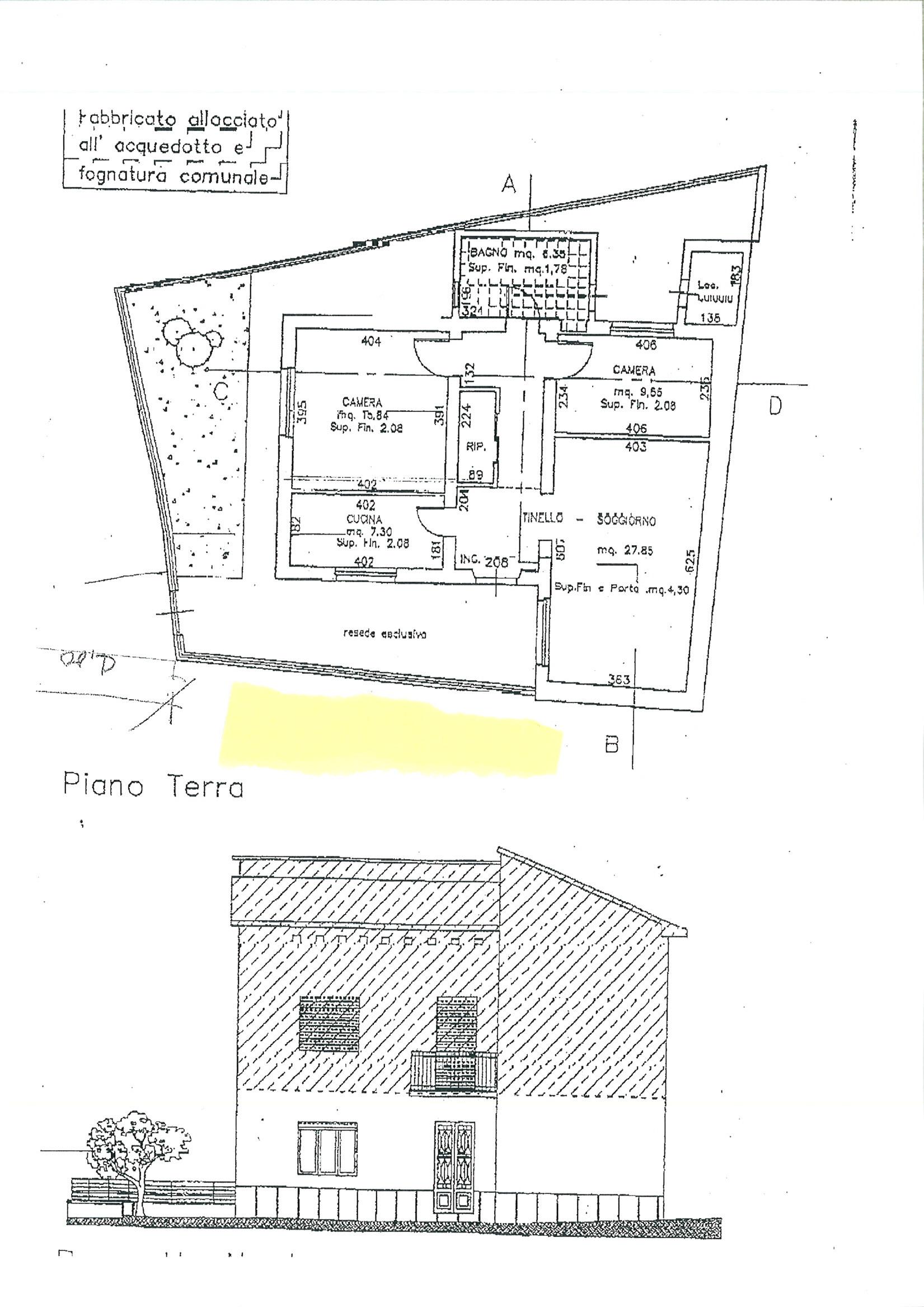 Planimetria 3/3 per rif. ap castel 90