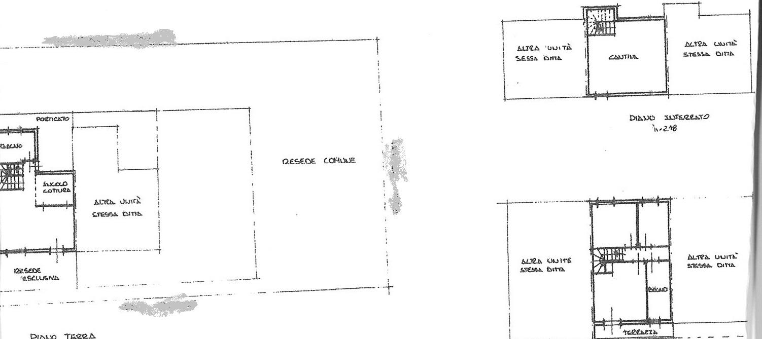 Planimetria 1/1 per rif. vsc capa 180