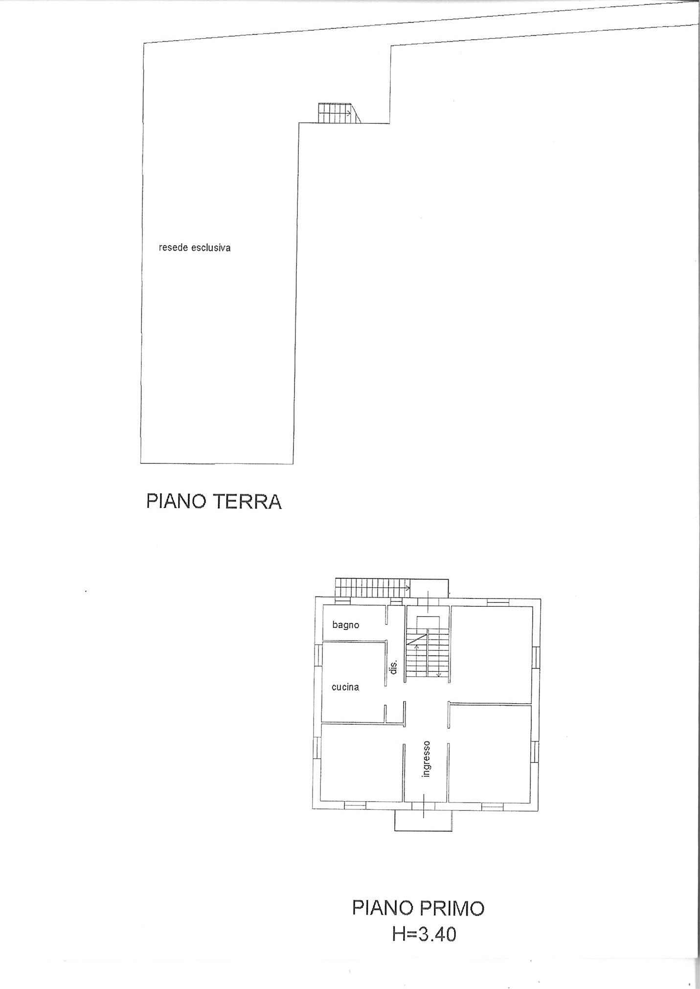 Planimetria 1/2 per rif. ap spvic 198