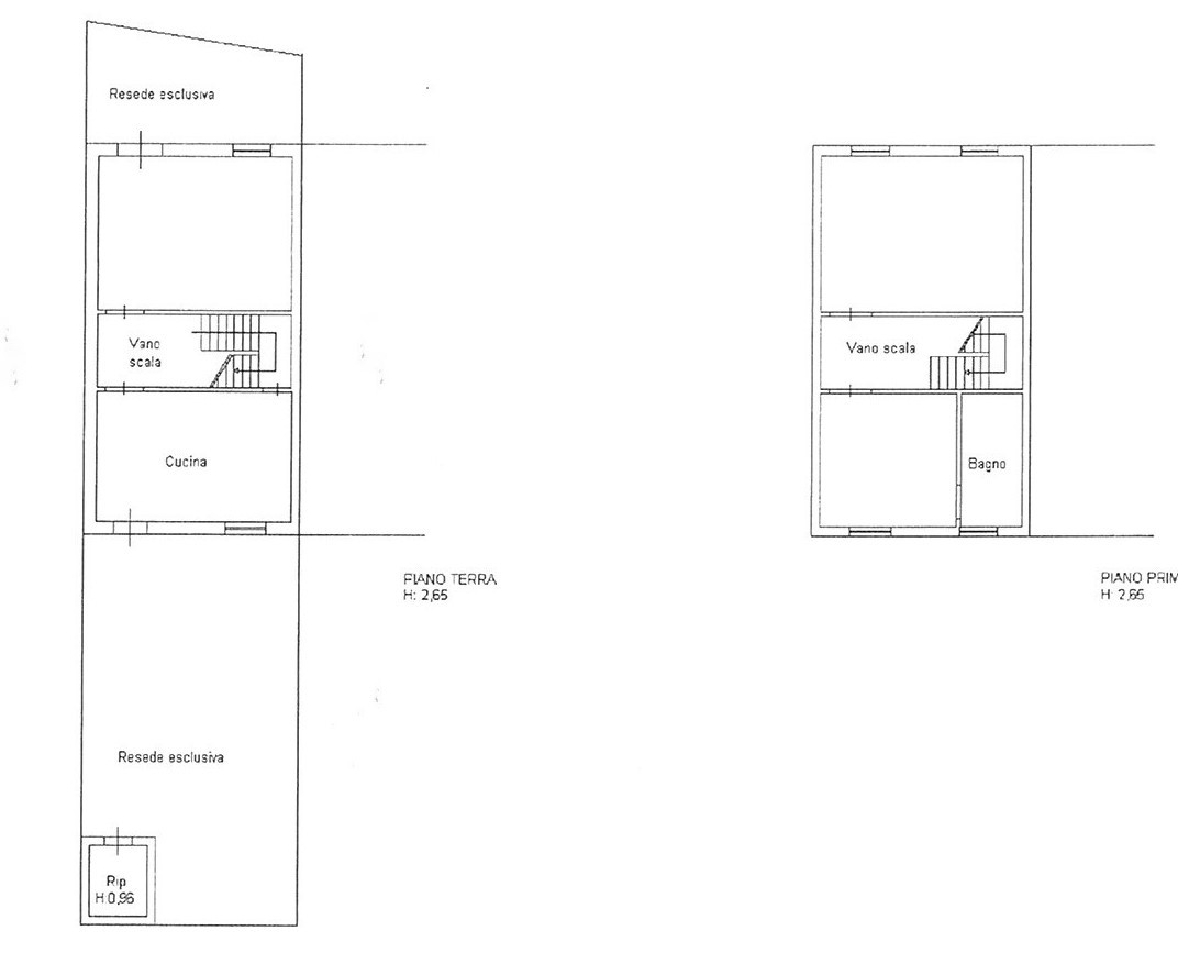 Planimetria 1/1 per rif. trf marl 145