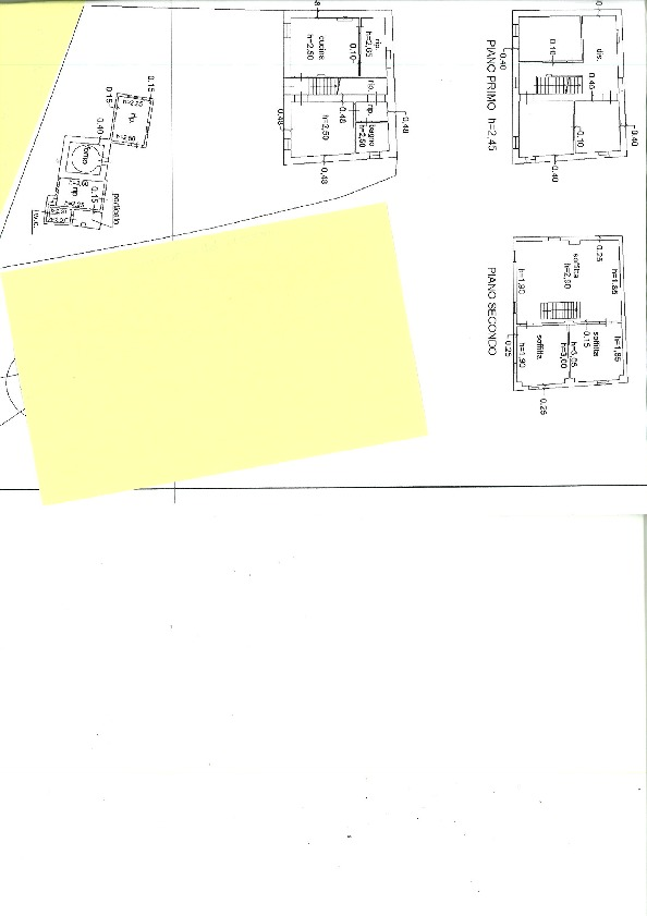Planimetria 1/1 per rif. trf sgin 120