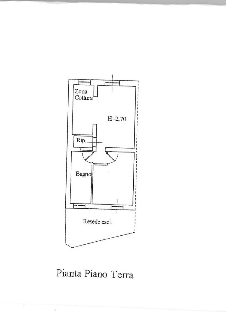 Planimetria 1/1 per rif. ap capa 98