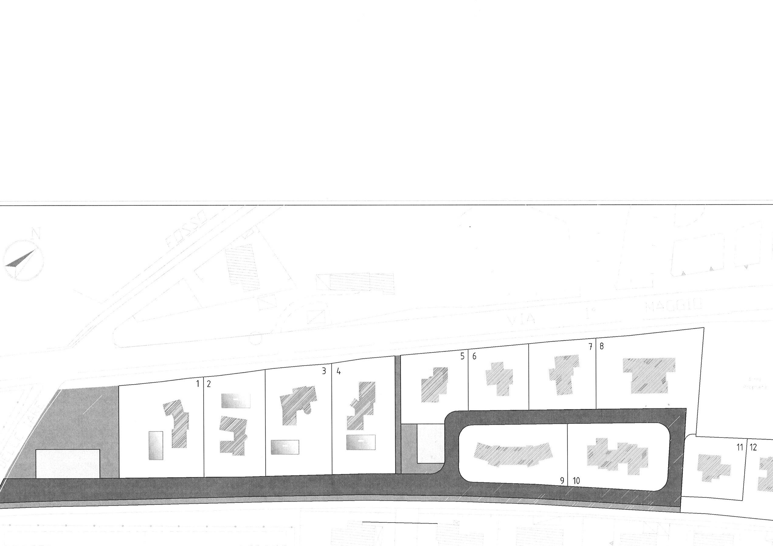 Planimetria 2/2 per rif. vill pietra 1100