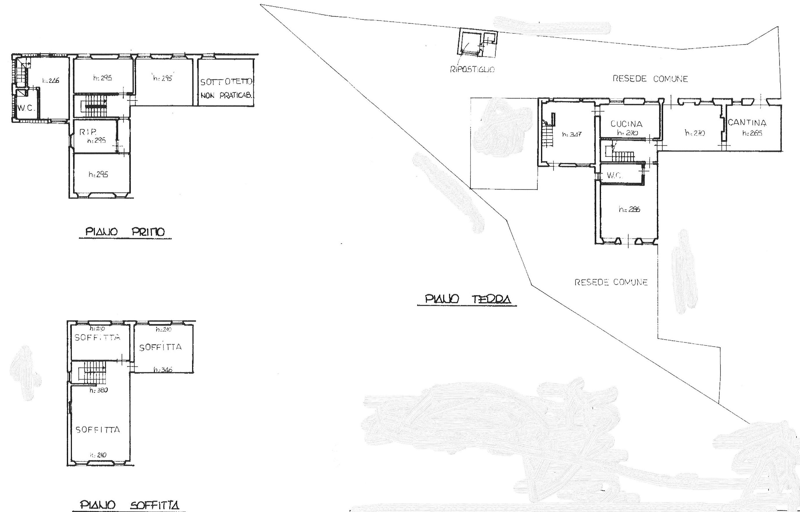 Planimetria 1/2 per rif. semi tor 265