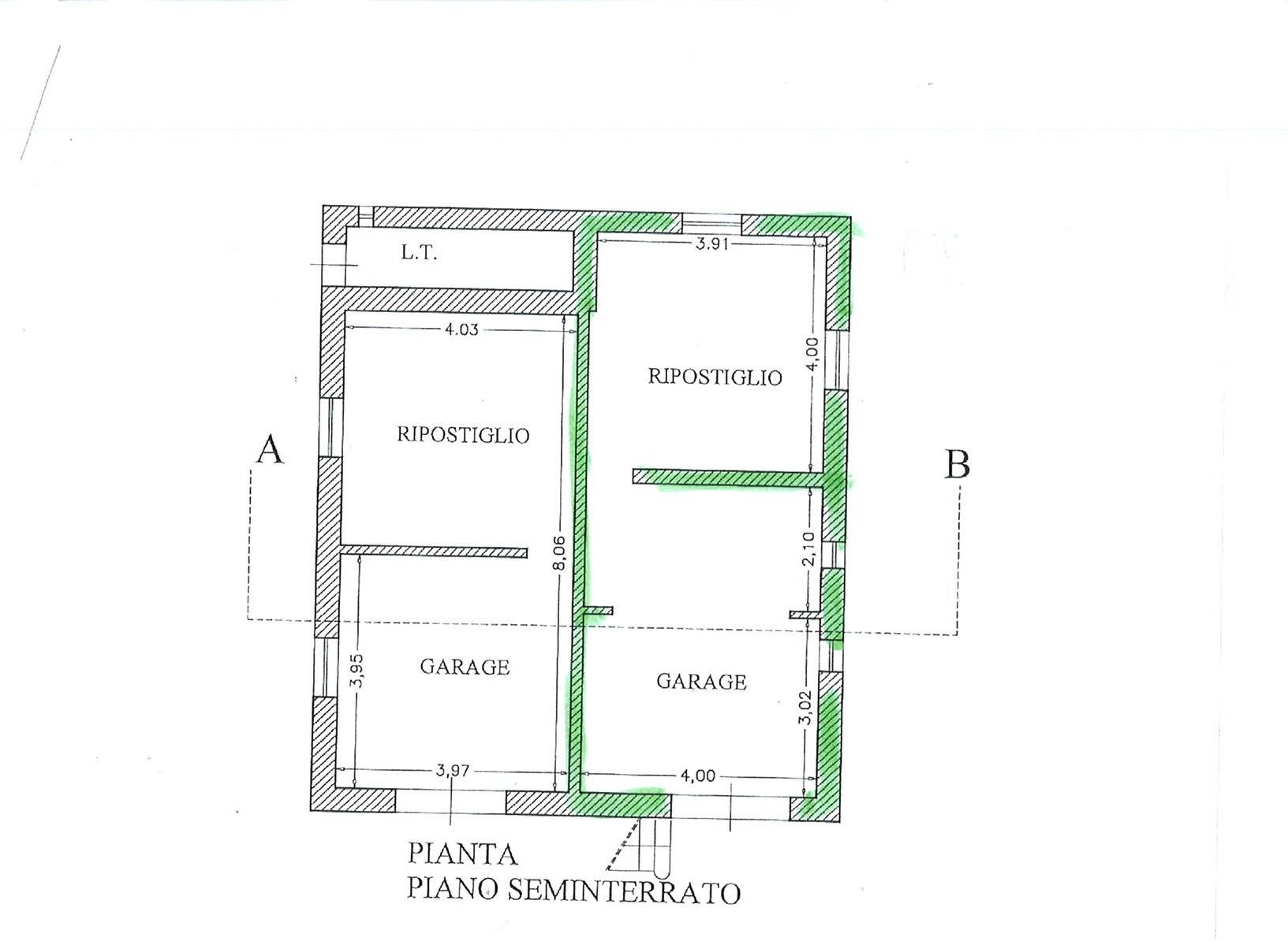 Planimetria 3/3 per rif. uff svito 800