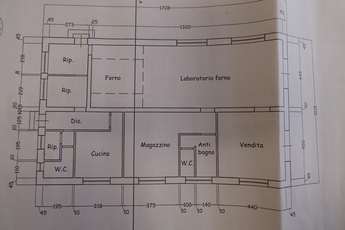 Planimetria 1/1 per rif. V36