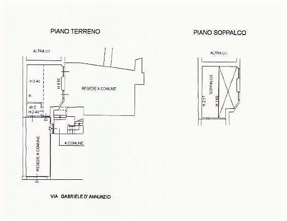 Planimetria 1/1 per rif. Centro Tecnico Federale