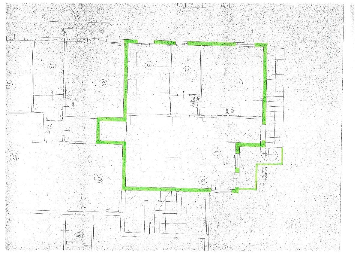 Planimetria 1/1 per rif. BC157
