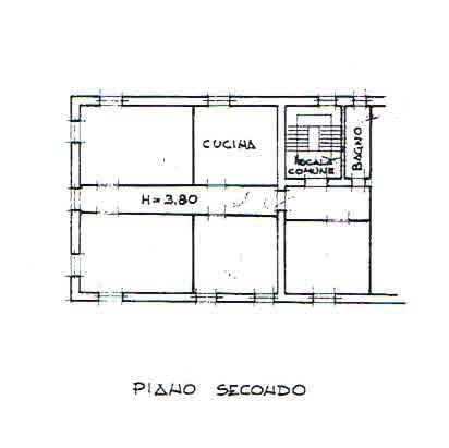 Planimetria 3/3 per rif. 2336