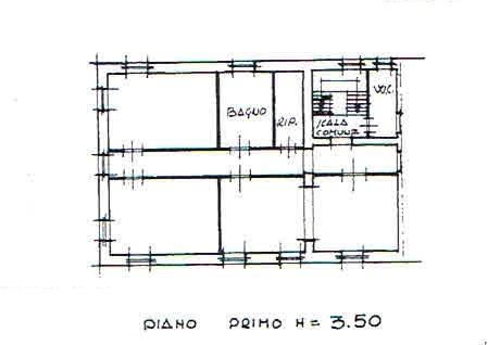Planimetria 2/3 per rif. 2336