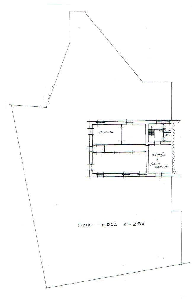Planimetria 1/3 per rif. 2336