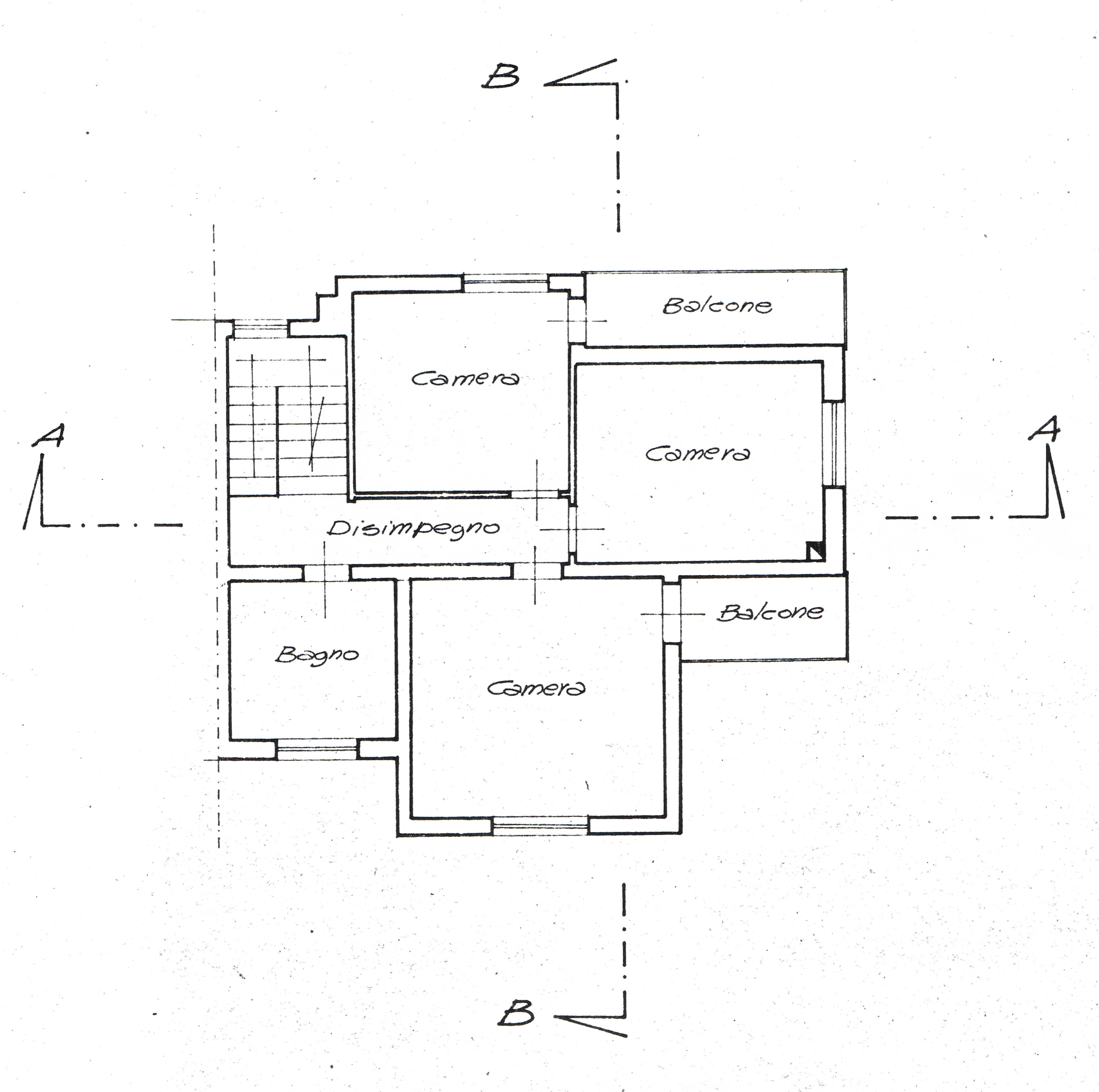 Planimetria 2/3 per rif. 2671